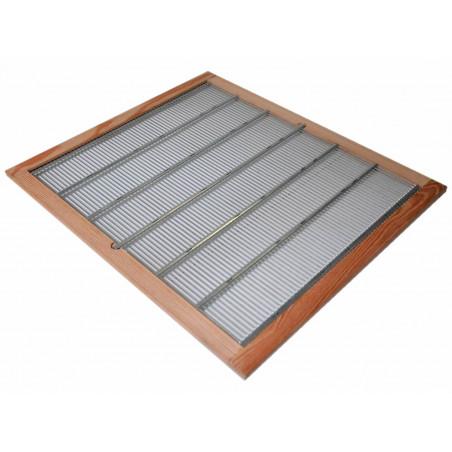Escludiregina 50x50 a griglia con telaio