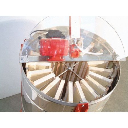 "Motorised radial honey extractor ""Tucano Elettrico"", diameter 630mm, 20 Dadant super-hive stainless steel cage, Eloba motor"