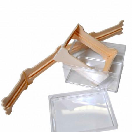 Favetto mini in plastica per miele in favo