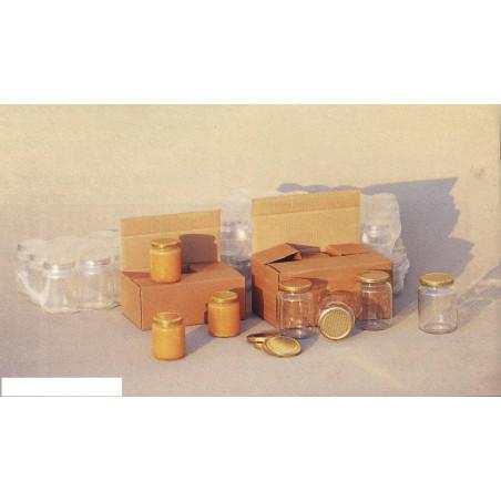 Scatola di cartone per 6 vasi gr 500 con divisori incorporati