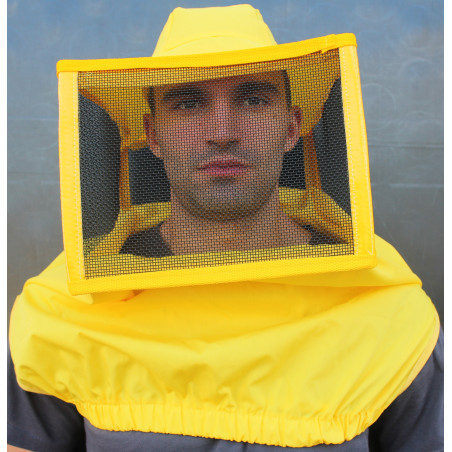 Maschera quadrata a cappello ascellare