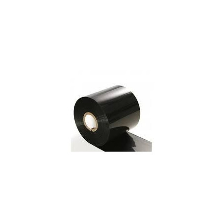 Nastro-pellicola per stampanti a trasferimento termico mm 65x360 mt (colore nero)