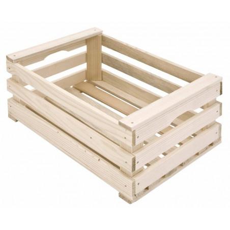 Cassettina in legno naturale cm 17x25