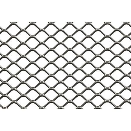 Rete inox microstirata mm 200x380 romboidale spazio 3 5 for Rete stirata prezzo