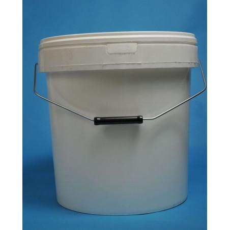 Secchiello kg. 25 in plastica (litri 19)