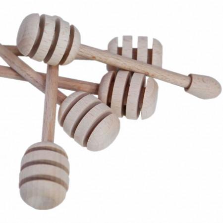 Prendimiele/spargimiele in legno cm. 9 - conf. da 10 pezzi