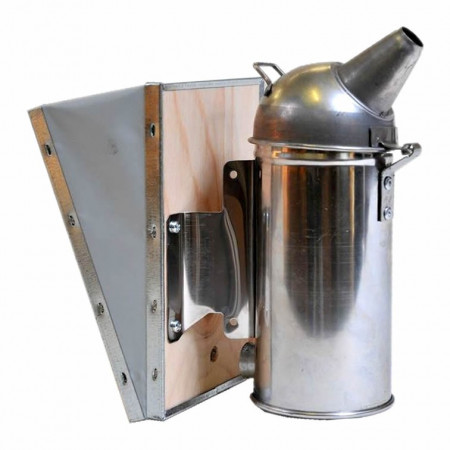 Smoker, 8 cm, galvanized, without protection