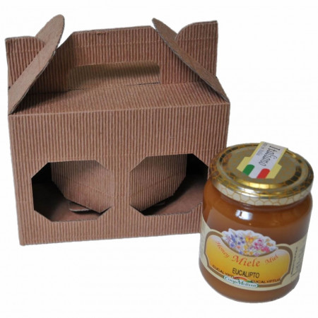 Gift box for 2 500g-jars