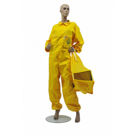 Yellow beekeeper coverall