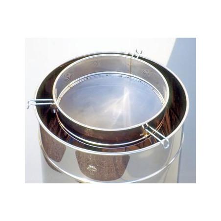 Filtro per miele piccolo in rete, per maturatori 50-100kg, inox