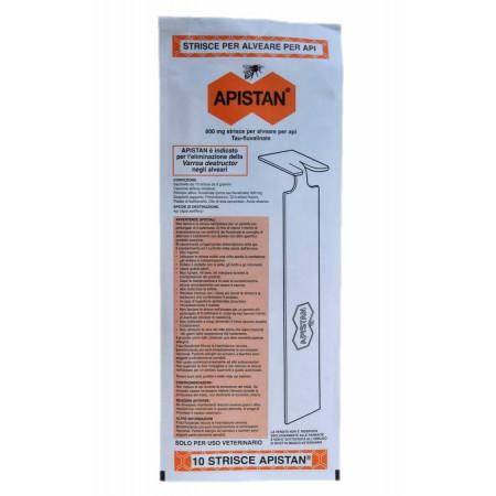 Apistan, anti-varroa strips (1 pack contains 10 strips)