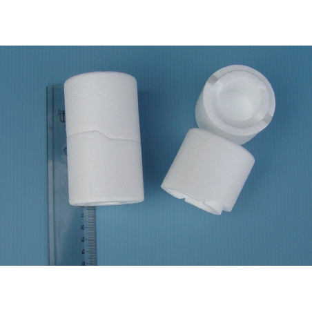 Polystyrene box for royal jelly (heat resistant)