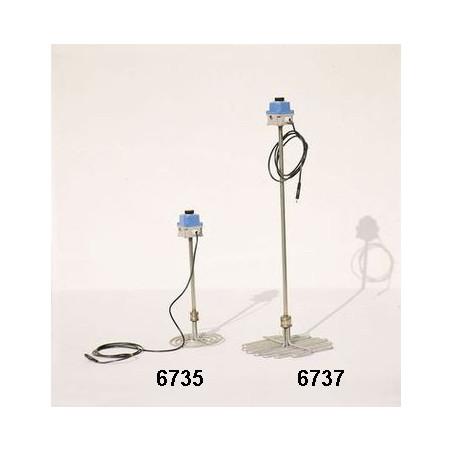 Scioglimiele a resistenza elettrica ø42cm, inox, 1000W