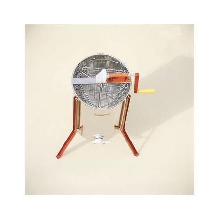 Smelatore tangenziale man. 'Micro' gabbia cromata, 3 favi D.B. o 3 favi Langstroth
