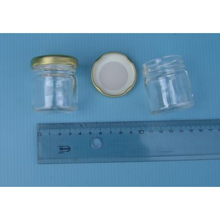 Vaso vetro mignon, monodose, gr. 50 nella confezione da 120 v