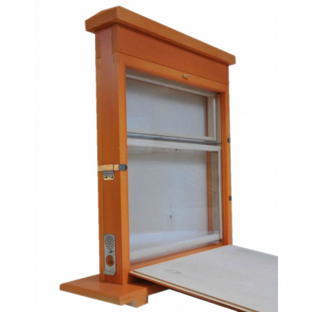 Single frame observation hive