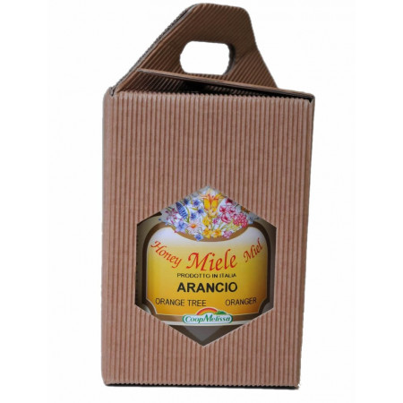 Gift box with 1 jars 500 g jars.