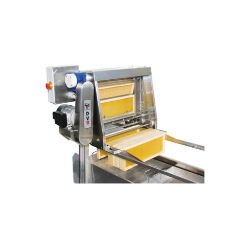 Disopercolatrice semi-automatica DV2, coltelli riscaldati elettricamente