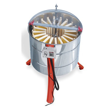 "Motorised radial honey extractor ""Tucano Elettrico Gamma"", diameter 630mm, 20 super-hive stainless steel cage Dadant leg J"