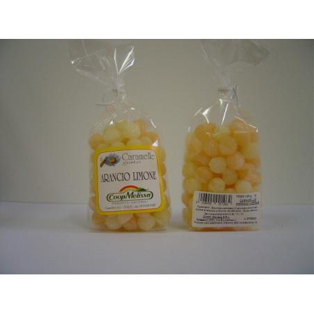 Caramelle drops gr. 125 arancio limone