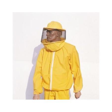 Giubbotto da apicoltore con maschera rotonda