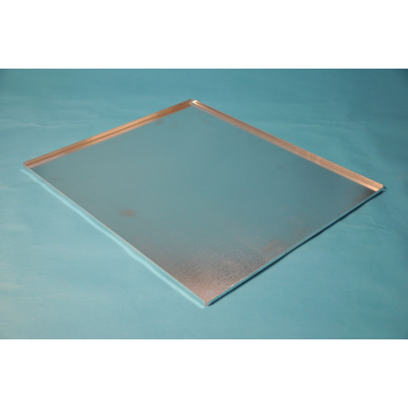 Sheet metal tray, width 38,5 cm (with removable 10 frames floor)