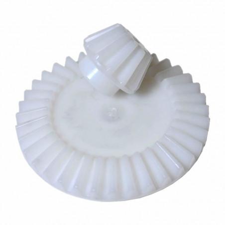 Coppia ingranaggi plastica diam. 110