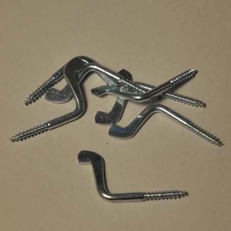 Galvanized angle screws, 21x40