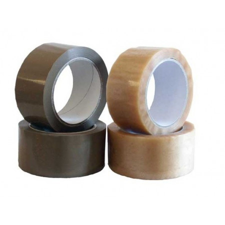 Transparent adhesive tape 50 mm (132 metres!)