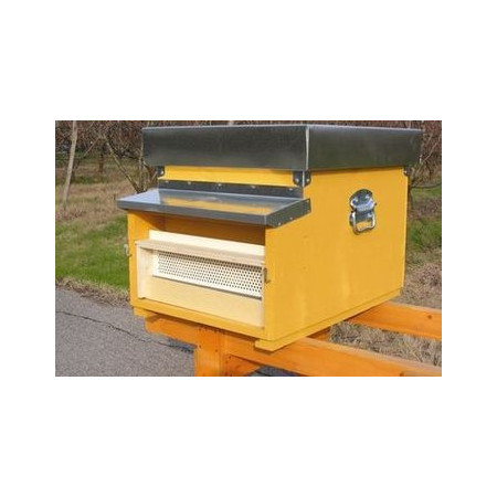 Pollen traps for standard hives